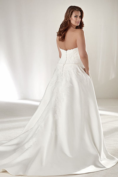 Plus Size Ballroom Wedding Dresses