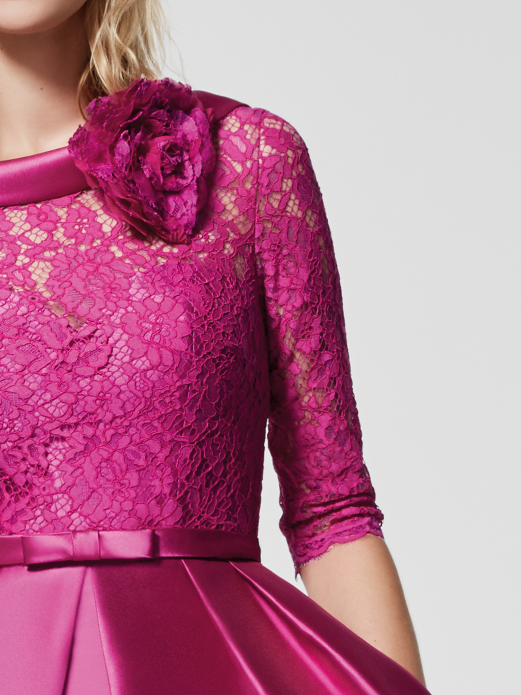 Short Lace Cocktail Dress | Bycouturier