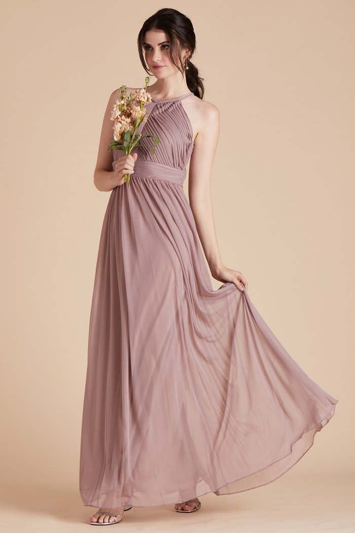 Tulle Halter Bridesmaid Dress | Bycouturier