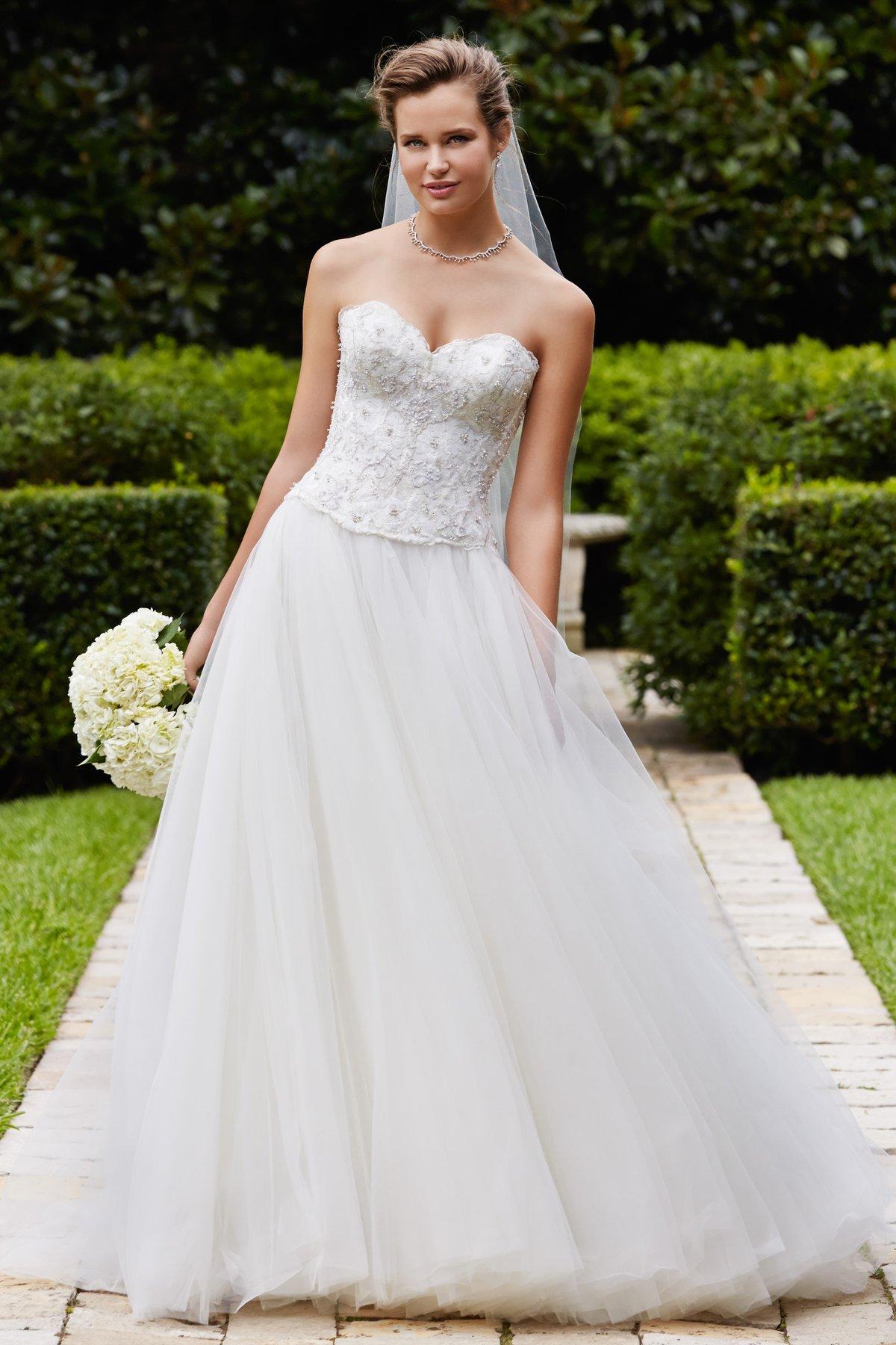Sweetheartneck Beaded Ballgown Wedding Dress: Ball Gown Wedding Dresses Spring At Websimilar.org