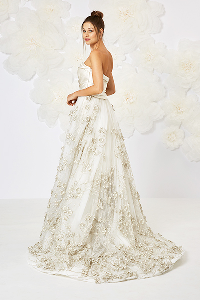 d3d0e6dfe21da ... Embroidered Floral Tulle Gown In Silk