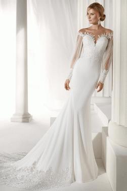 f2dd565670bb Asymmetrical Mermaid/Trumpet Wedding Dresses & Mermaid/Trumpet Gowns ...