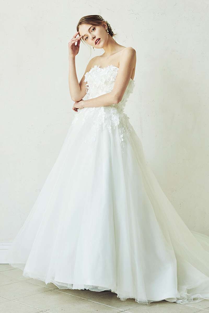 Strapless Ball-Gown Wedding Dress | Bycouturier